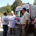 Путильщины получила новый автомобиль скорой помощи