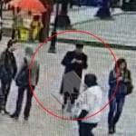 Появилось видео с предполагаемым петербургским террористом