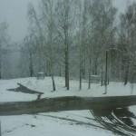 Беларусь на Пасху засыпало снегом
