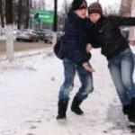 За день в Черновцах из-за гололеда травмировалось 45 человек