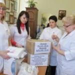 Черновицкие медики передали для бойцов АТО лекарств на сумму свыше 43 тыс. грн.