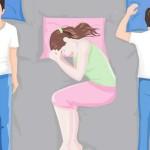 Поза, в которой спим, влияет на здоровье