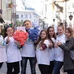 Студенты-медики в Черновцах отметили День сердца