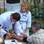 Черновчанам бесплатно измеряли артериальное давление