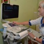 В черновицкой больнице № 4 презентовали новый УЗИ-сканер производства Италии