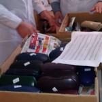 Немцы и итальянцы передали Кицманской больницы портативный отоскоп и 5 коробок очков