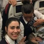 Экипаж Boeing 737 на высоте 12 800 метров принял роды