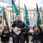 В Польше праворадикалы протестовали против украинских работников