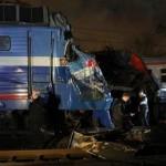 В Москве столкнулись поезд и электричка, есть пострадавшие