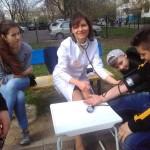 На бульваре Героев Крут черновчане советовались с врачом-кардиологом